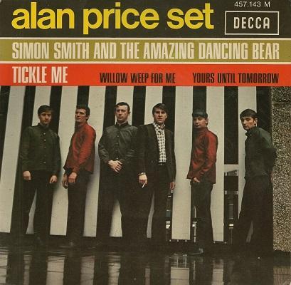 SIMON SMITH AND THE AMAZING DANCING BEAR E.P.   Original French E.P.