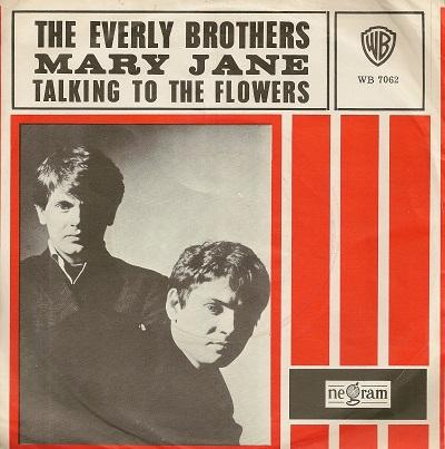 MARY JANE / Talking To The Flowers    Dutch pressing