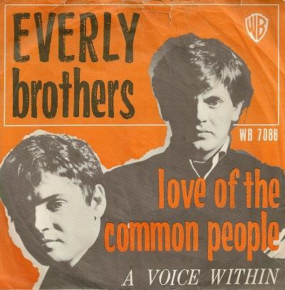 LOVE OF THE COMMON PEOPLE / A Voice Within    Dutch pressing