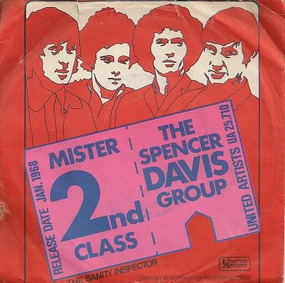 MR. SECOND CLASS / Sanity Inspector    Dutch original