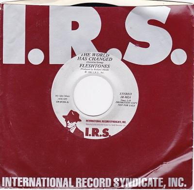 THE WORLD HAS CHANGED / All Around The World   US Promo copy