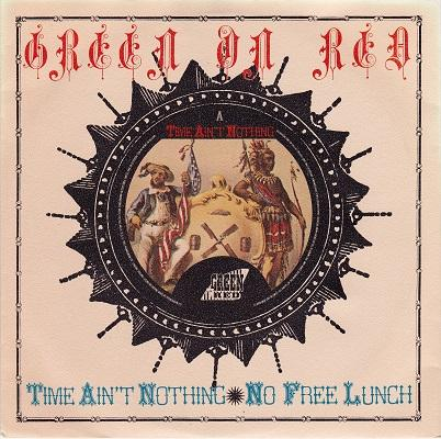 TIME AIN'T NOTHING / No Free Lunch   Dutch pressing with radio promotor letter