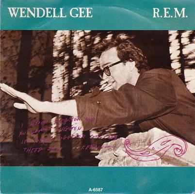 WENDELL GEE / Crazy   Dutch pressing