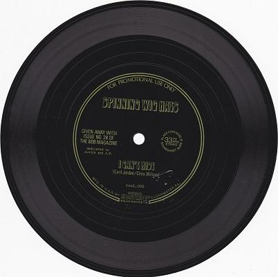 I CAN'T HIDE   Promotional giveaway flexi-disc