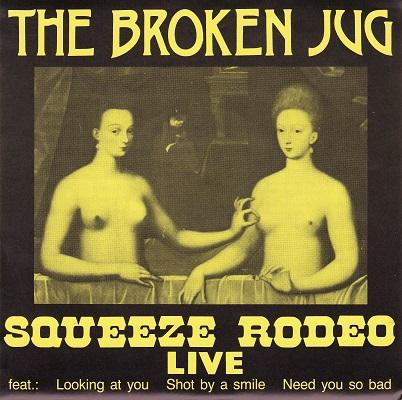 SQUEEZE RODEO LIVE   Handnumbered edition
