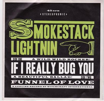 IF I REALLY BUG YOU / Funnel Of Love   Rare original pressing