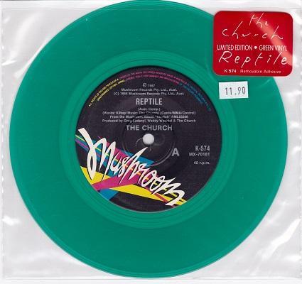 REPTILE / Texas Moon   Limited green vinyl