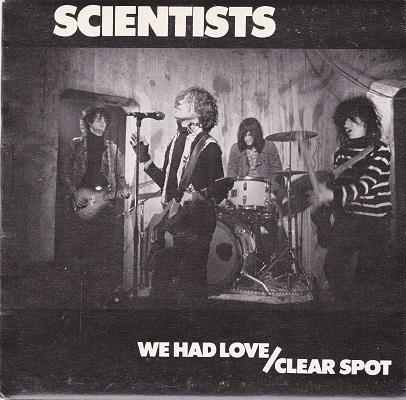 WE HAD LOVE / Clear Spot   Original OZ pressing