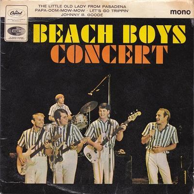 BEACH BOYS CONCERT E.P.   U.K. original