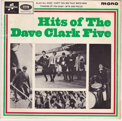 HITS OF THE DAVE CLARK FIVE E.P.   UK original