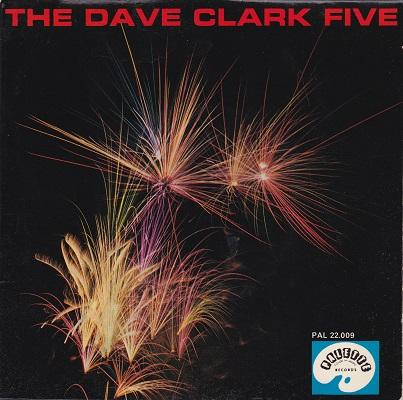 THE DAVE CLARK FIVE & THE RAVENS E.P.   French split EP