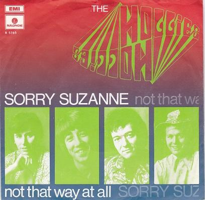 SORRY SUZANNE / Not That Way At All   Dutch original