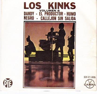 LOS KINKS VOL. 6 E.P.   Mexican original