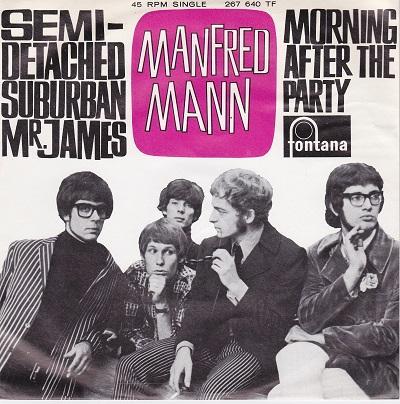 SEMI-DETACHED, SUBURBAN MR JAMES / Morning After The Party   Dutch original