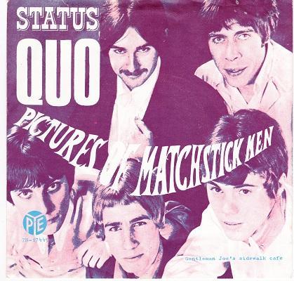 PICTURES OF MATCHSTICK MEN / Gentleman Joe's Sidewalk Cafe   Dutch original
