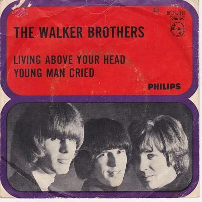 LIVING ABOVE YOUR HEAD / Young Man Cried   Dutch original