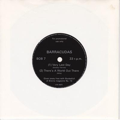VERY LAST DAY / There's A World Out There   Promotional flexi-disc