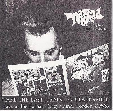 TAKE THE LAST TRAIN TO CLARKSVILLE / Sick Sick Fucknik   Limited numbered edition