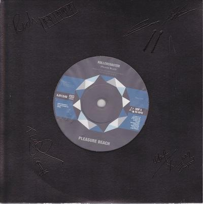 ROLLERCOASTER / Smells Like Teen Spirit   UK original fully signed
