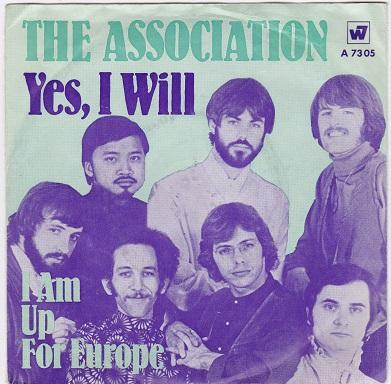 YES, I WILL / I Am Up For Europé   German pressing
