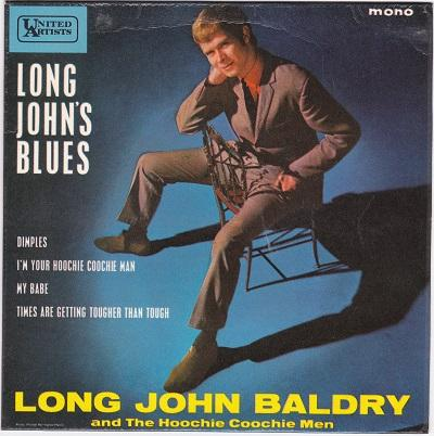 LONG JOHN'S BLUES E.P.   UK pressing
