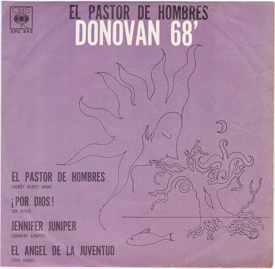 EL PASTOR DE HOMBRES DONOVAN 68' E.P.   Pressed in Mexico