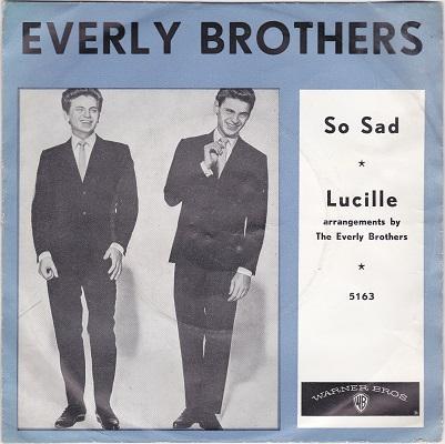 SO SAD / Lucille   Dutch pressing