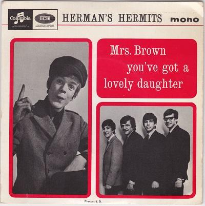 MRS. BROWN YOU'VE GOT A LOVELY DAUGHTER E.P.   Original UK pressing