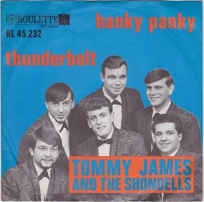 HANKY PANKY / Thunderbolt   Dutch original