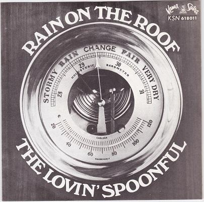 RAIN ON THE ROOF / Phil's Love Theme   Swedish pressing