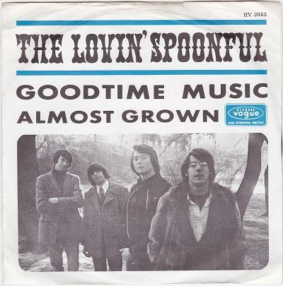GOODTIME MUSIC / Almost Grown   Dutch pressing