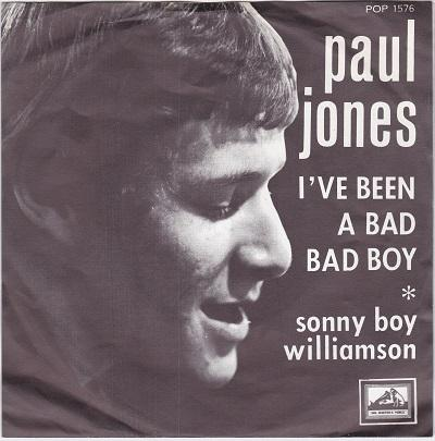 I'VE BEEN A BAD BAD BOY / Sonny Boy Williamson   Dutch pressing