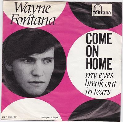 COME ON HOME / My Eyes Break Out In Tears   Dutch pressing