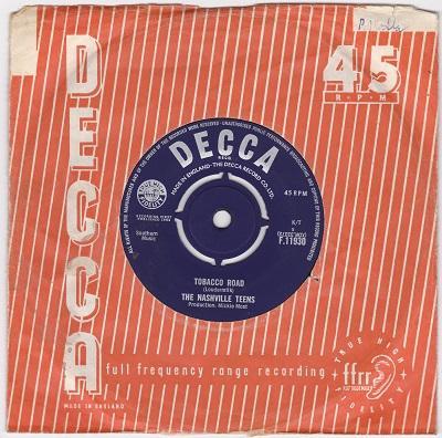 TOBACCO ROAD / I Like It Like That   UK pressing