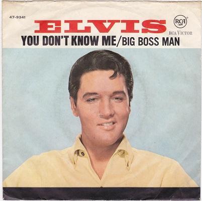 YOU DON'T KNOW ME / Big Boss Man   German pressing