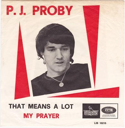 THAT MEANS A LOT / My Prayer   Dutch pressing