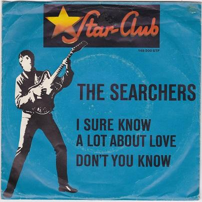 I SURE KNOW A LOT ABOUT LOVE / Don't You Know   German pressing
