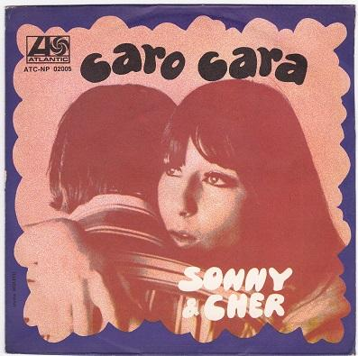CARO CARA (IT'S THE LITTLE THING) / Fantasie (Don't Talk To Strangers)   Italian pressing
