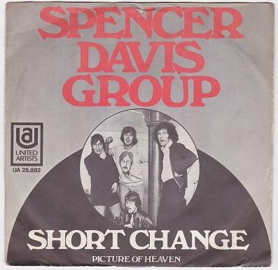 SHORT CHANGE / Picture Of Heaven   Dutch pressing