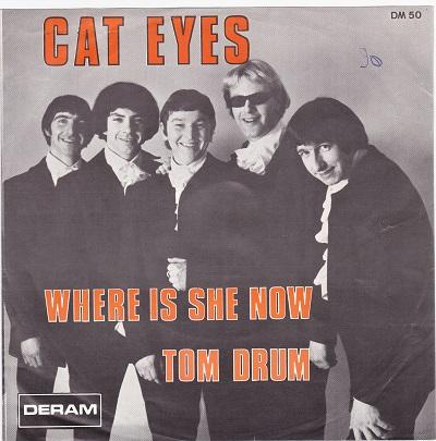 WHERE IS SHE NOW / Tom Drum   Belgian pressing