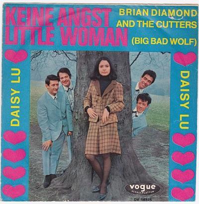 KEINE ANGST LITTLE WOMAN / Daisy Lu   German pressing