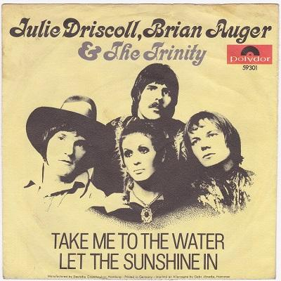 TAKE ME TO THE WATER / Let The Sunshine In   German pressing