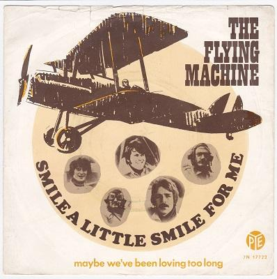SMILE A LITTLE SMILE FOR ME / Maybe We've Been Loving Too Long   Dutch pressing