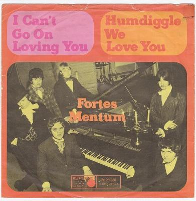 I CAN'T GO ON LOVING YOU / Humdiggle We Love You   German pressing