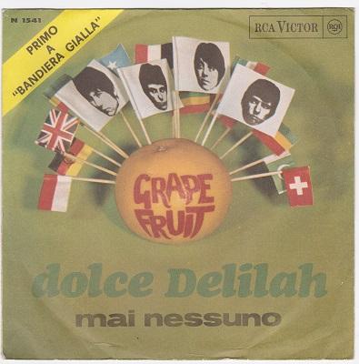 DOLCE DELILAH / Mai Nessuno   Italian pressing
