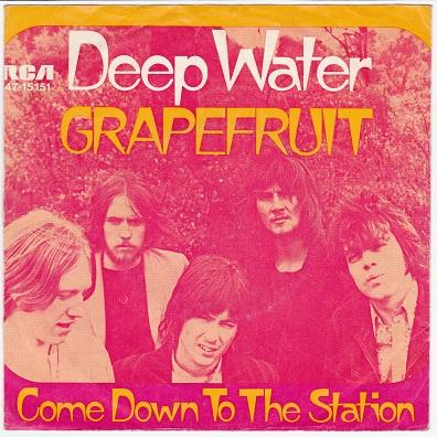 DEEP WATER / Come Down To The Station   German pressing