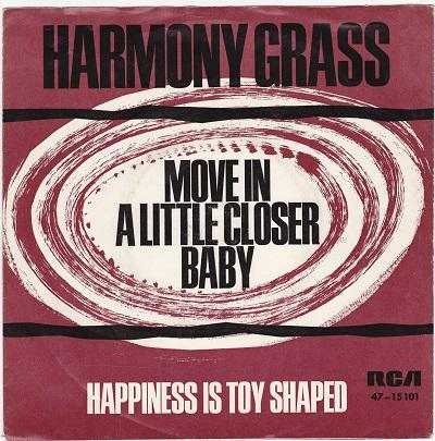 MOVE IN A LITTLE CLOSER BABY / Happiness Is Toy Shaped   German pressing