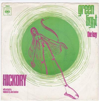 GREEN LIGHT / The Key   Dutch pressing