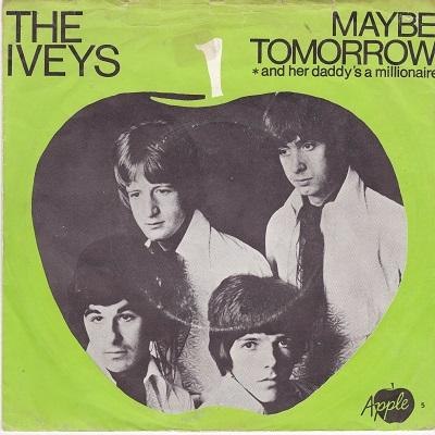 MAYBE TOMORROW / And Her Daddy's A Millionaire   UK pressing