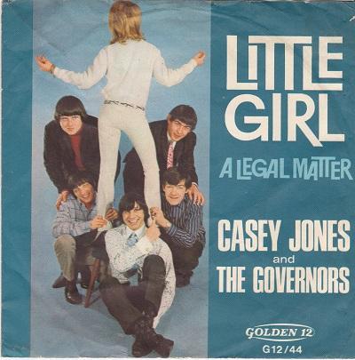 LITTLE GIRL / A Legal Matter   German pressing